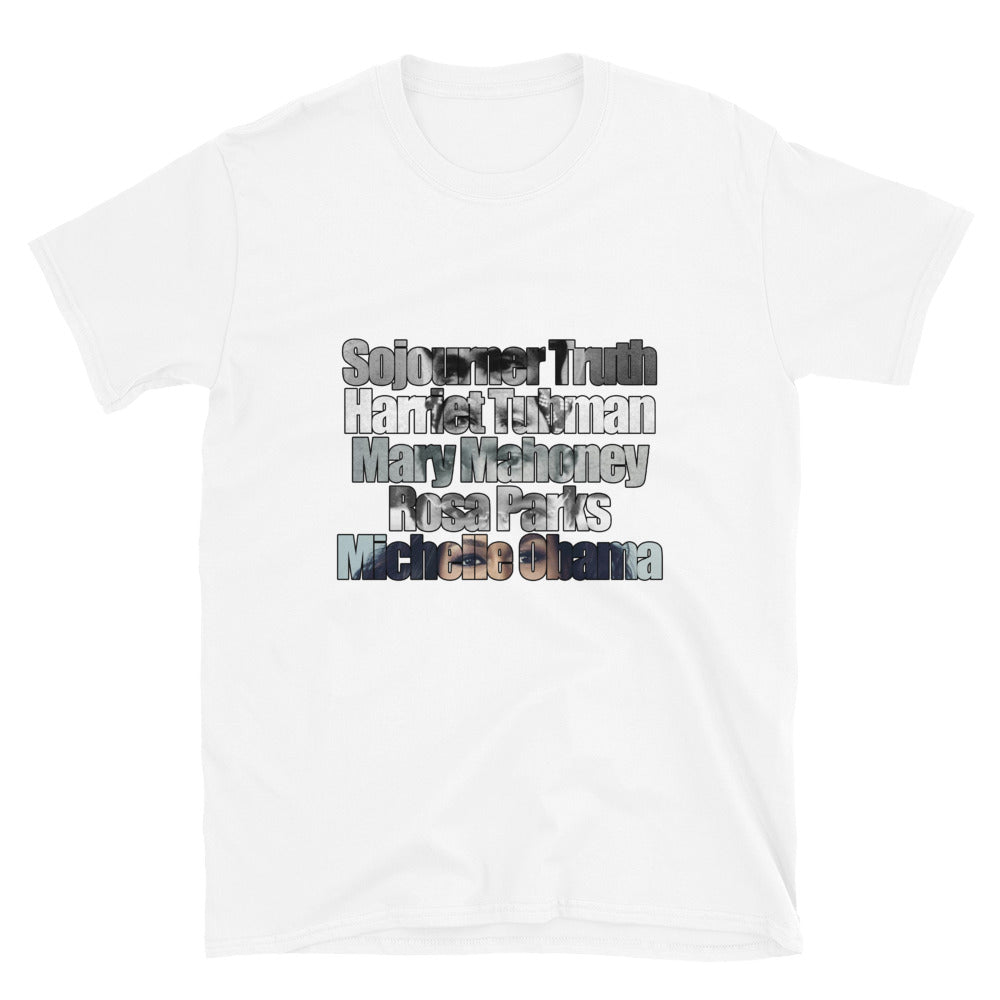 Mary Mahoney ICONS Short-Sleeve Unisex T-Shirt