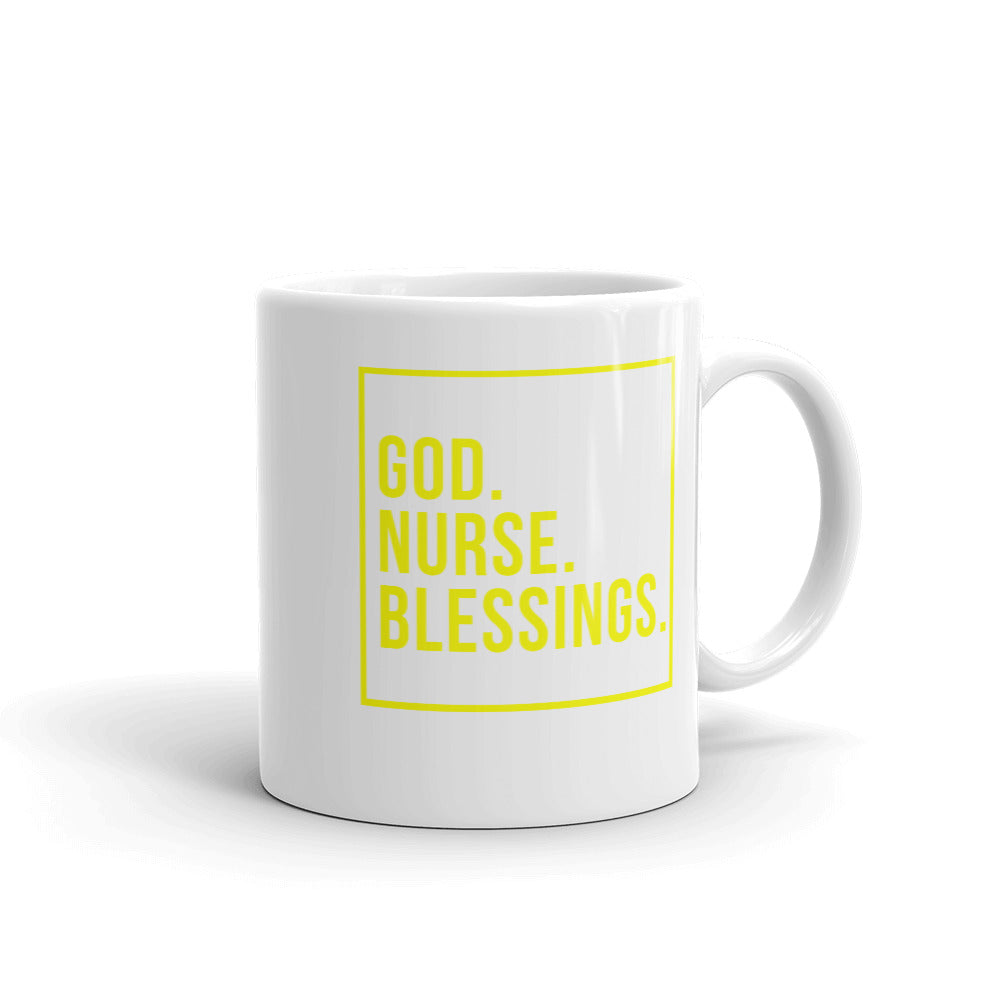 God Nurse Blessings Mug
