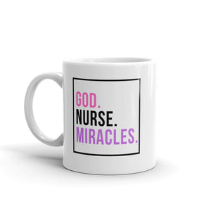 God Nurse Miracles Mug
