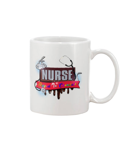 Nurse Dipped In Chocolate Mug