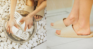 Ultra-lightweight bathroom slippers prevent slipping and provide enough comfort and support!