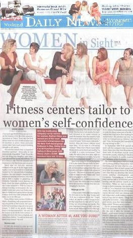 Fitness centers tailor to women's self-confidence
