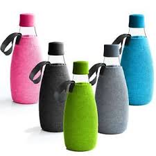 27 oz Retap Bottle Cotton Sleeve w/ Strap