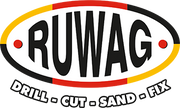 Ruwag Logo - Drill Cut Sand Fix