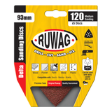 Ruwag Delta Sanding Disc in Packaging