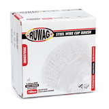 Ruwag Steel Wire Cup Brush 150mm in Packaging