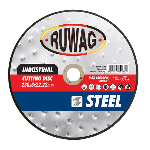 Ruwag Stainless Steel Abrasive Cutting Disc