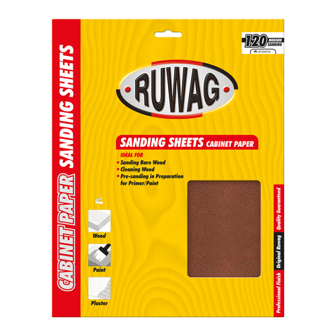 Ruwag Cabinet Paper Sanding Sheets