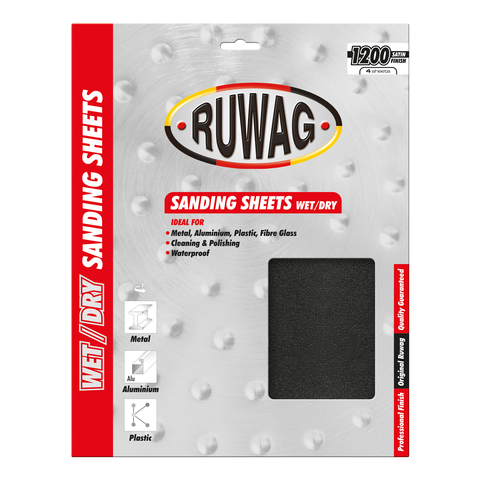 Ruwag Wet/Dry Sanding Sheets