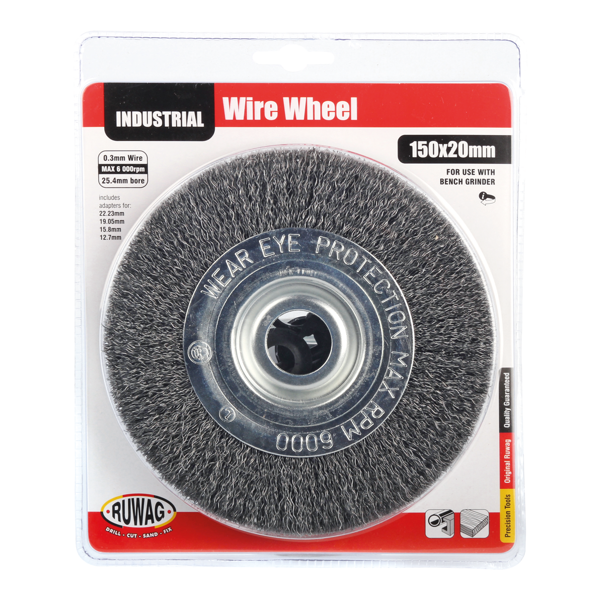 Outstanding Wire Wheel 25 4Mm Bore With Adapters Ruwag Sa Caraccident5 Cool Chair Designs And Ideas Caraccident5Info