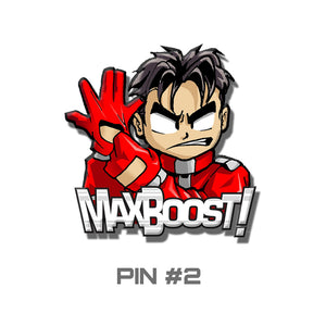 "Collectors Pin - ""Max Boost Driver"""