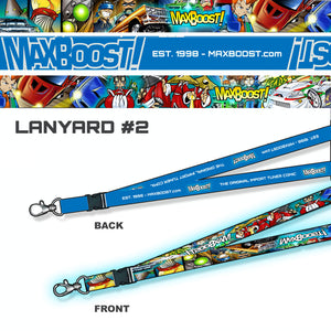 Max Boost - Lanyard Blue