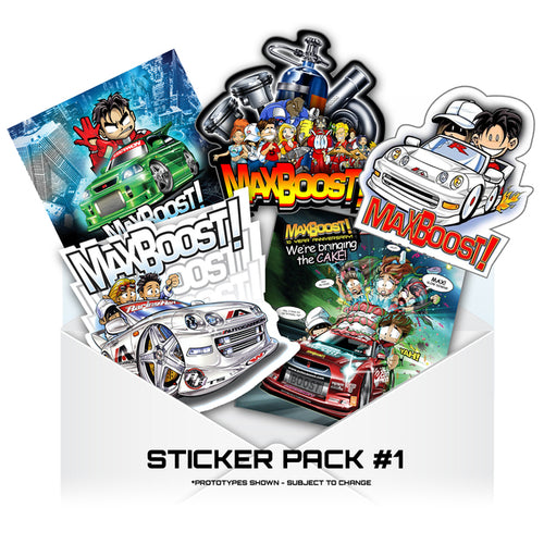 Sticker - PACK OF 5