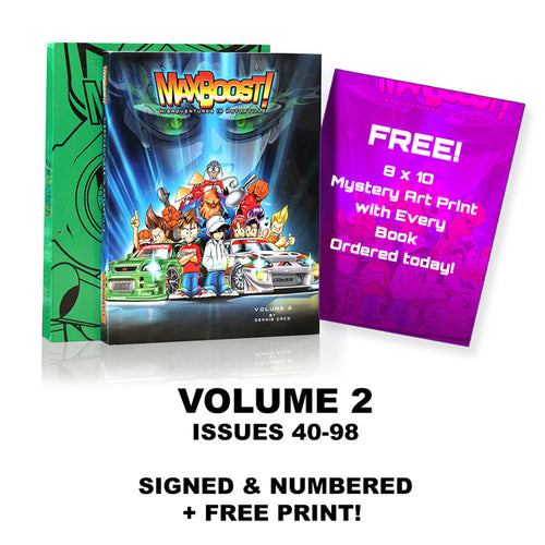 Max Boost Volume 2 Collector Edition - Original Cover (B)