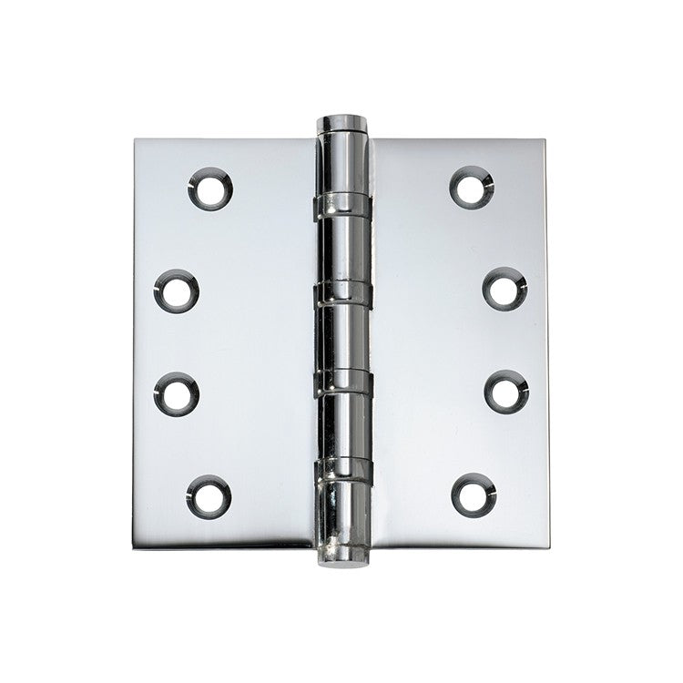 Polished Chrome Ball Bearing Hinge (Multiple Sizes)