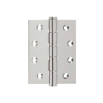 Satin Nickel Ball Bearing Hinge (Multiple Sizes)