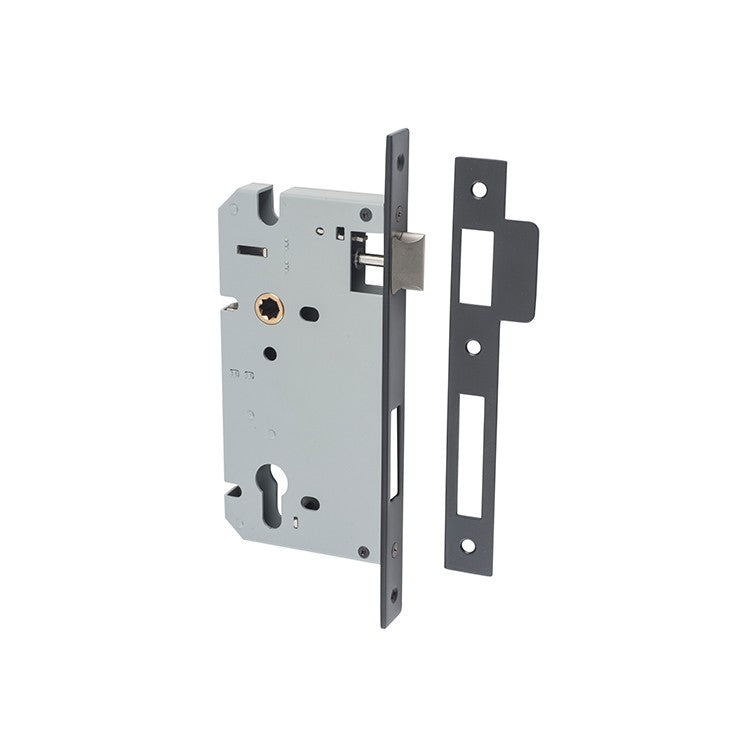 Euro Mortice Lock 85mm (multiple sizes & finishes)