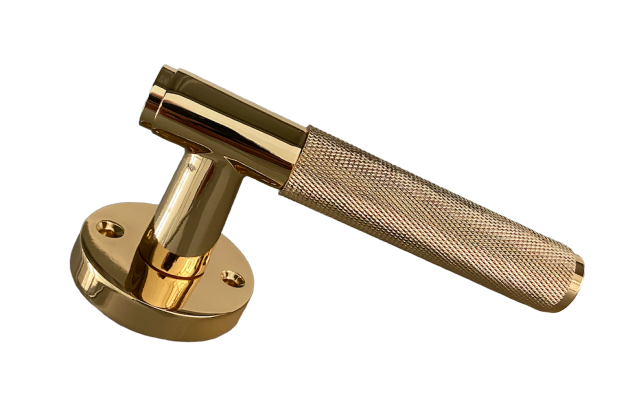 Knurled Lever Set (Multiple Finishes)