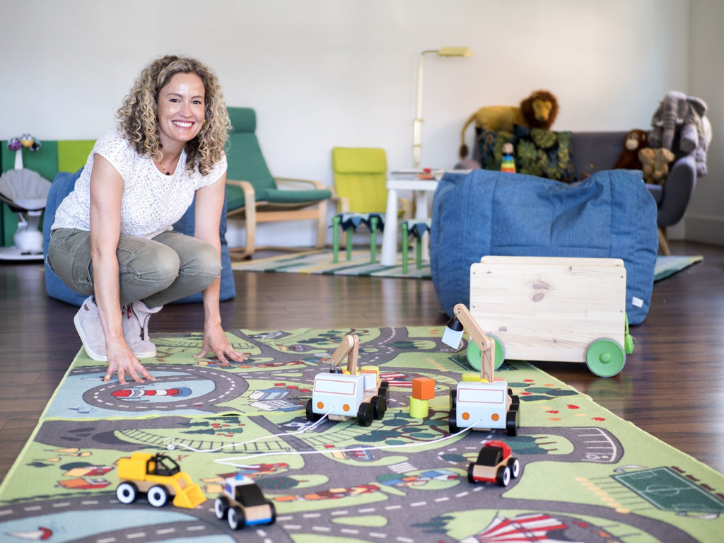 CEO Katie Carlin is a little bit proud of the play space at her San Mateo–based coworking space The Garden. Photo by Jouko van der Kruijssen