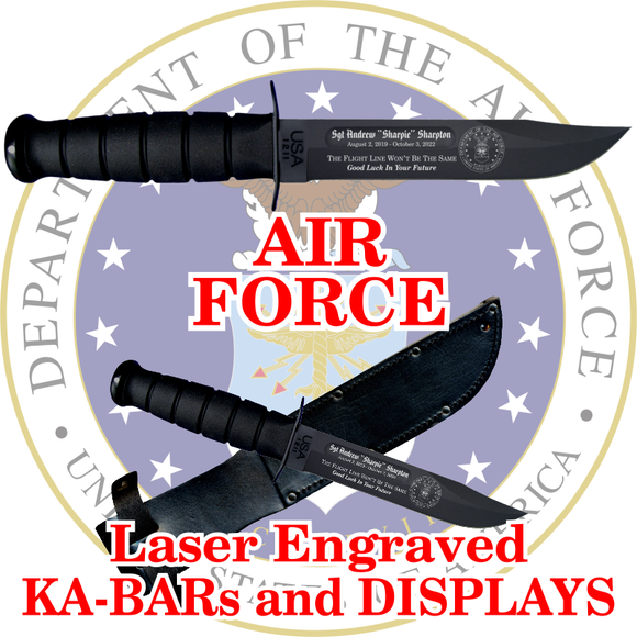 AIR FORCE KA-BARs and DISPLAYS