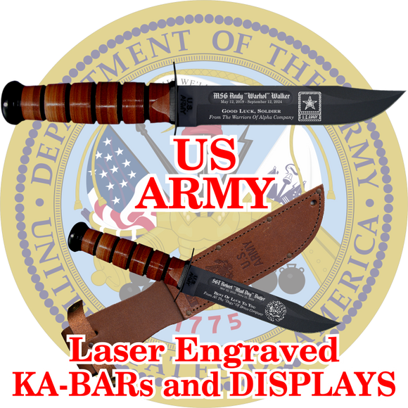 ARMY KA-BARs and DISPLAYS