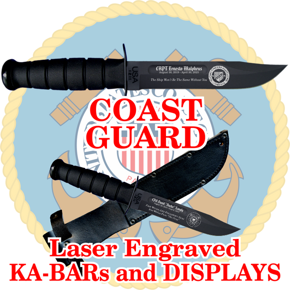 COAST GUARD KA-BARs and DISPLAYS