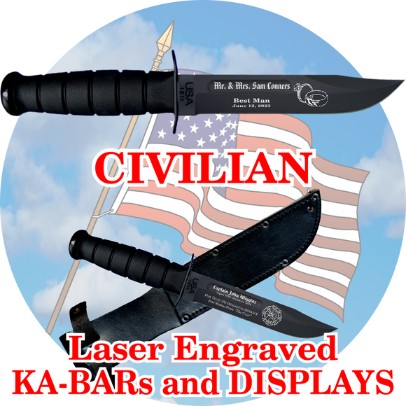 CIVILIAN KA-BARs and DISPLAYS