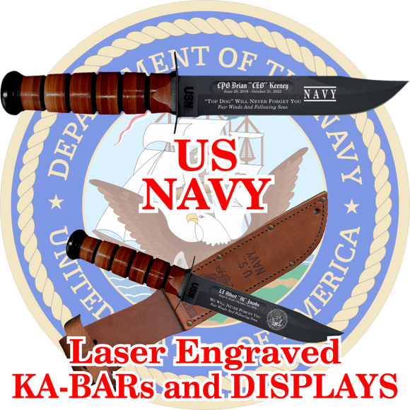 NAVY KA-BARs and DISPLAYS