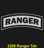 "AR84B - ARMY Comm - ""RANGERS LEAD"" + YOUR PERSONAL ENGRAVING ON THE BACK"