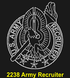 "AR82B - ARMY Comm - ""DUTY, HONOR, COUNTRY"" + YOUR PERSONAL ENGRAVING ON THE BACK"