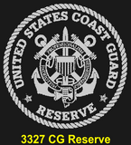 "CG84BL - COAST GUARD Comm - ""USCG ACADEMY"" + YOUR PERSONAL ENGRAVING ON THE BACK - LEATHER"