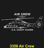 "CG82B - COAST GUARD Comm - ""SEMPER PARATUS"" + YOUR PERSONAL ENGRAVING ON THE BACK - BLACK HANDLE"