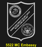 "MC84B - MARINE CORPS Comm - ""MCRD SAN DIEGO"" + YOUR PERSONAL ENGRAVING ON THE BACK"