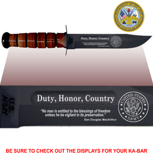 "AR82 - ARMY Commemorative - ""DUTY, HONOR, COUNTRY"""