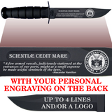 "CG84B - COAST GUARD Comm - ""USCG ACADEMY"" + YOUR PERSONAL ENGRAVING ON THE BACK"