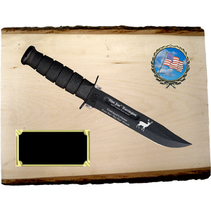 CV68 - CIVILIAN BASSWOOD PLANK (KA-BAR not included}