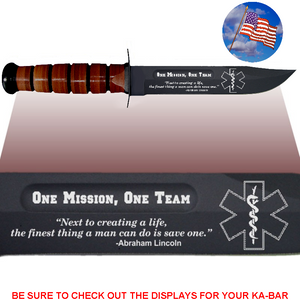 "CV88L - CIVILIAN Commemorative - ""ONE MISSION"" - LEATHER"