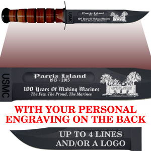 "MC86B - MARINE CORPS Comm - ""PI 100 YEARS"" + YOUR PERSONAL ENGRAVING ON THE BACK"