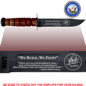 "NA84 - NAVY Commemorative - ""WE BUILD WE FIGHT"""