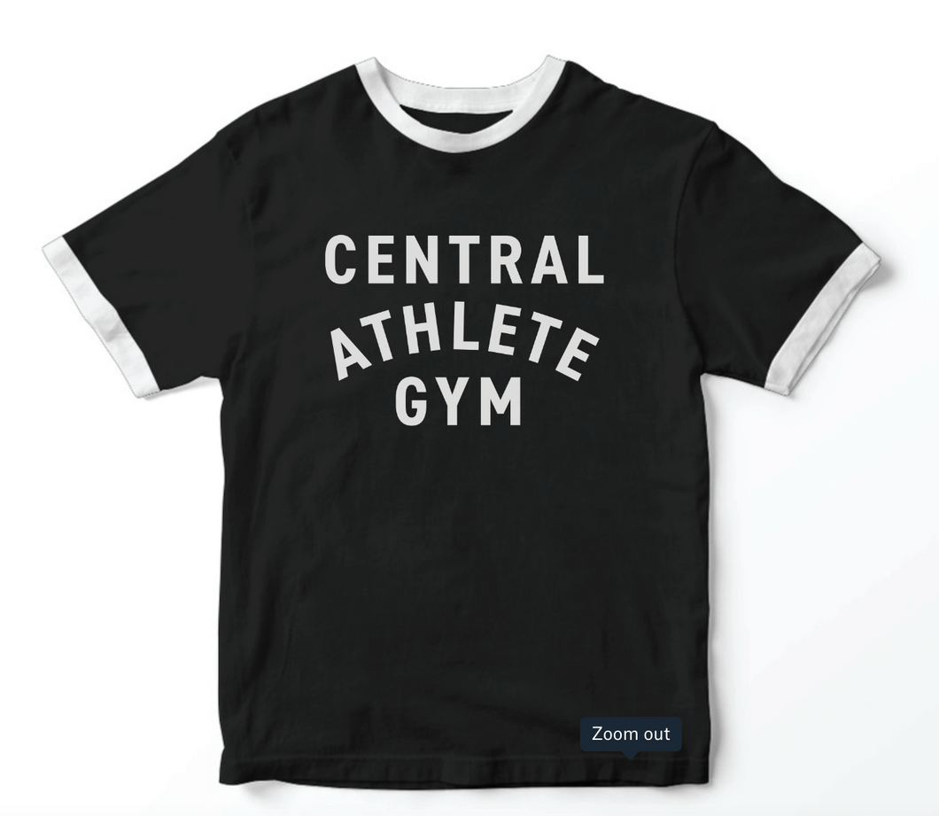 Old School Central Athlete Gym T-Shirt