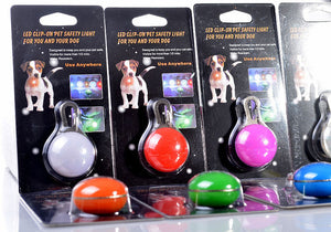 Safety LED Flashing Glow Collar Ball For Dogs