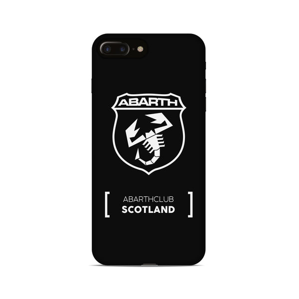Abarth Club Scotland Phone Case - Black