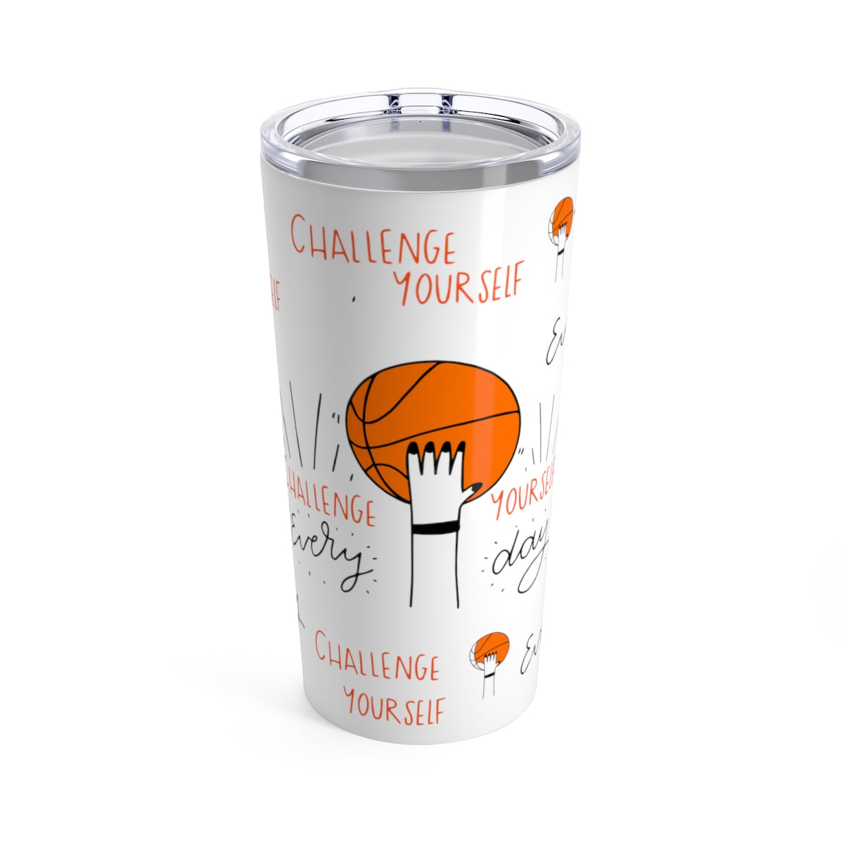 Challenge Yourself Tumbler