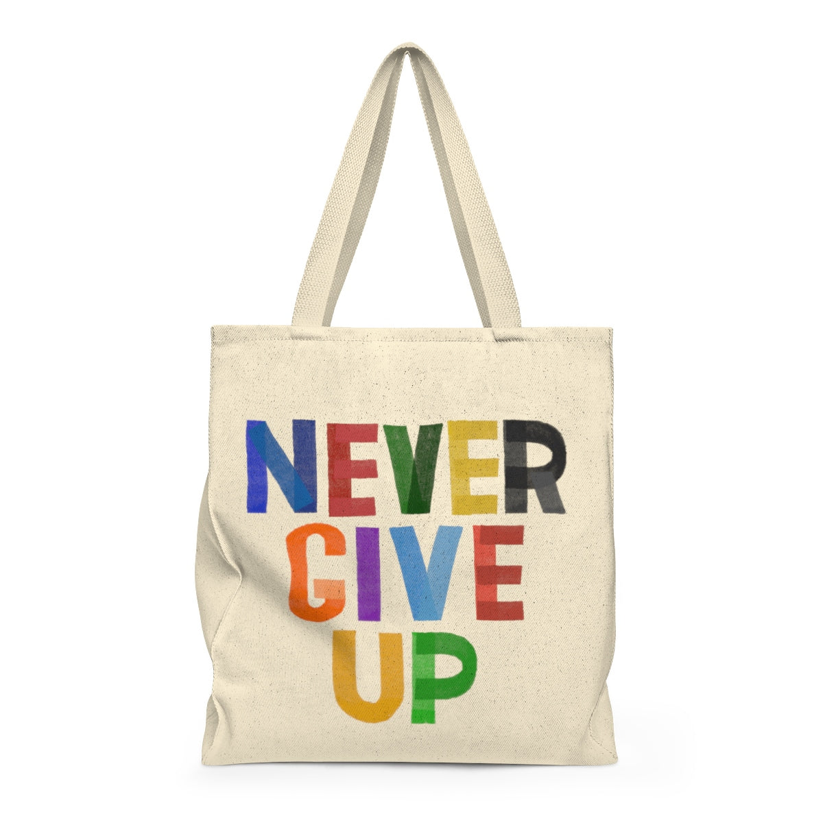 Never Give Up Tote