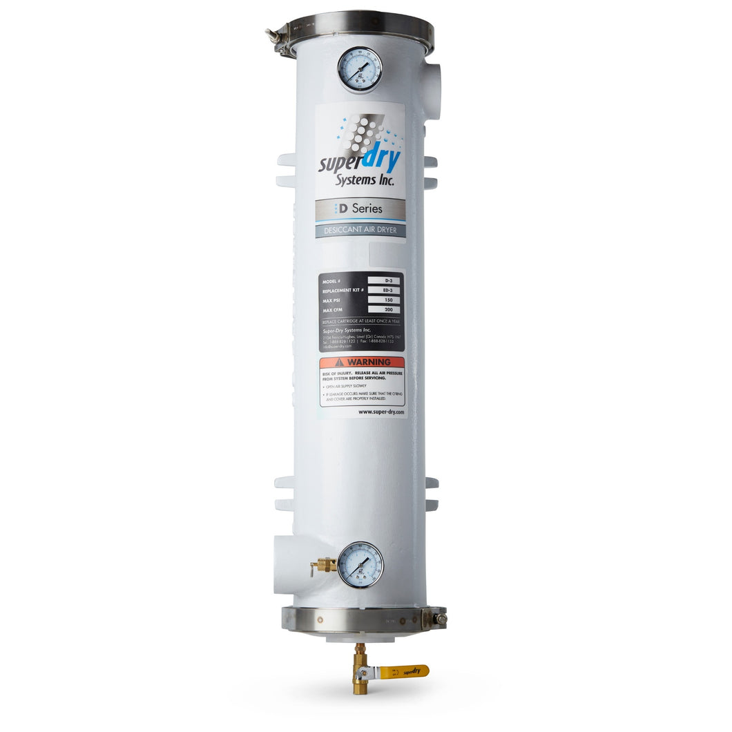 280-130-D-3-SUPER-DRY-DESICCANT-COMPRESSED-AIR-DRYER-HEATLESS-SYSTEM-FOR-AIR-COMPRESSOR-SINGLE-TOWER-POINT-OF-USE