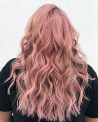Pink effortless waves