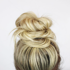 put your hair in a bun