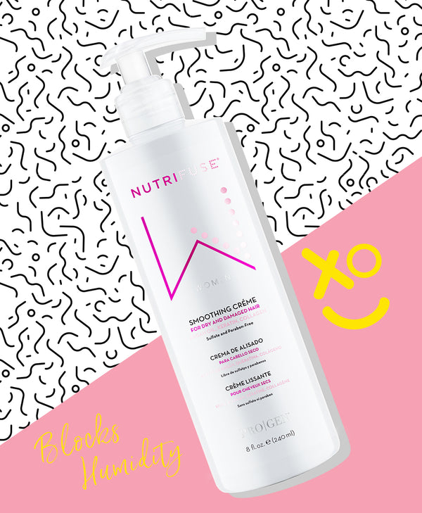 Nutrifuse smoothing creme helps block humidity and frizziness