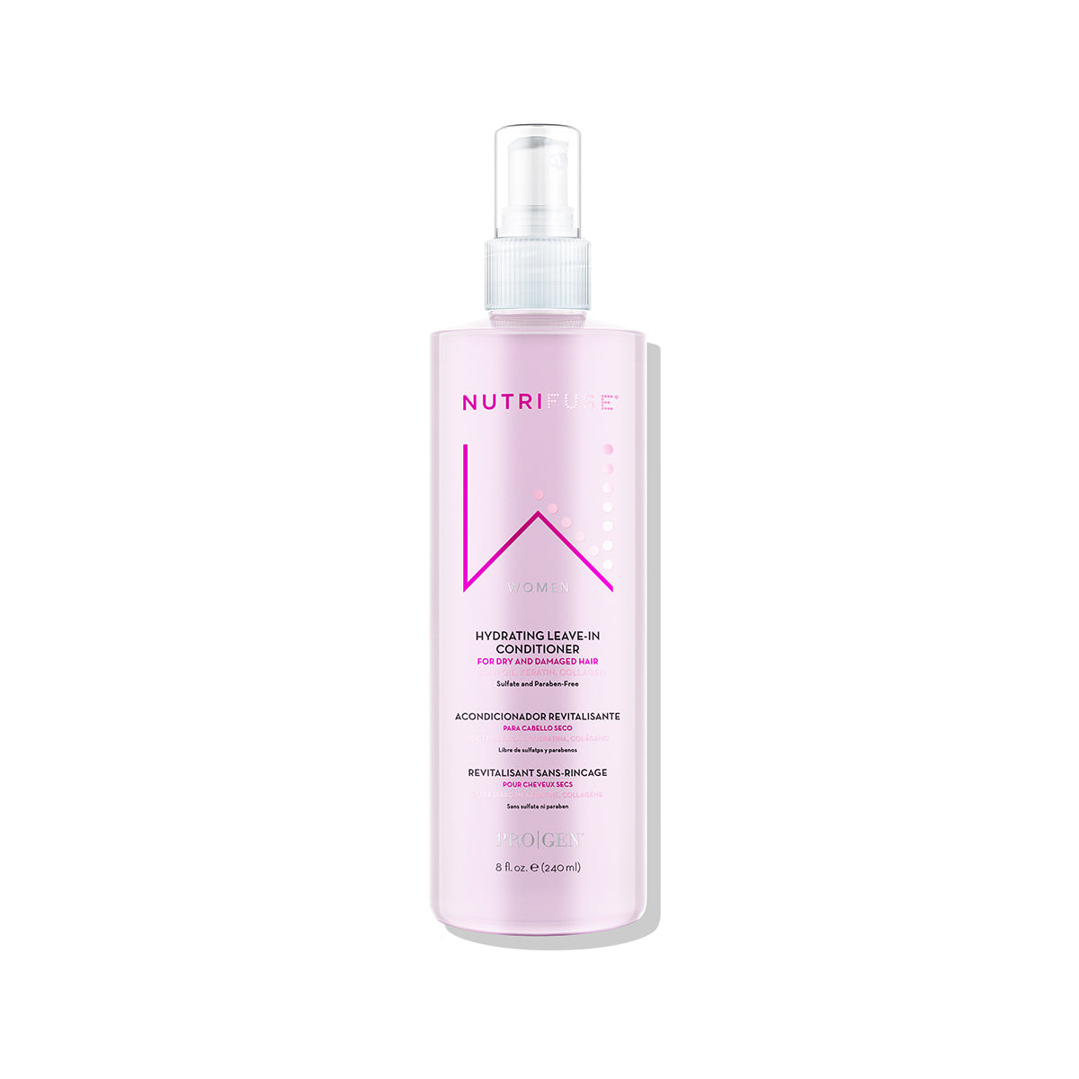 240ml hydrating leave-in conditioner for women