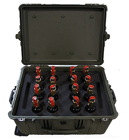Bundle, HPA Cylinders w/ Transport Case (16 pack).